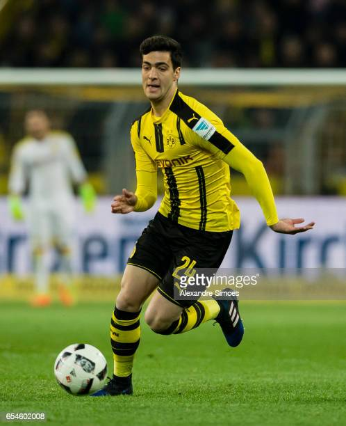 Mikel Merino of Borussia Dortmund in action during the Bundesliga match between Borussia Dortmund and FC Ingolstadt 04 at Signal Iduna Park on March...