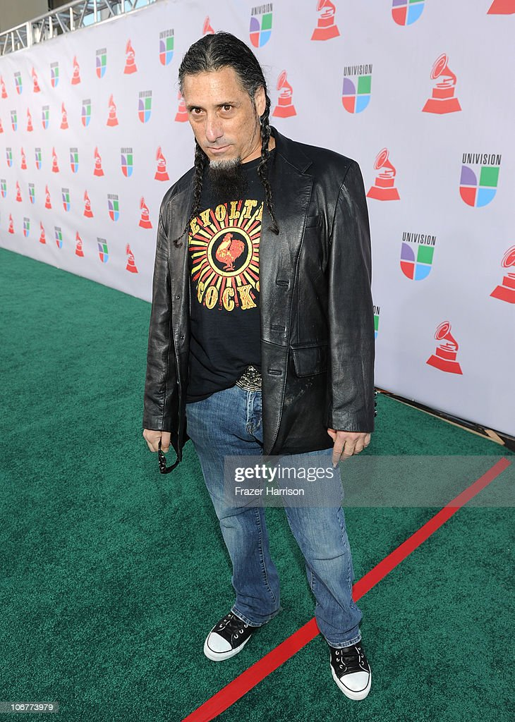 Mikey Berger arrives at the 11th annual Latin GRAMMY Awards at the Mandalay Bay Resort & Casino on November 11, 2010 in Las Vegas, Nevada.