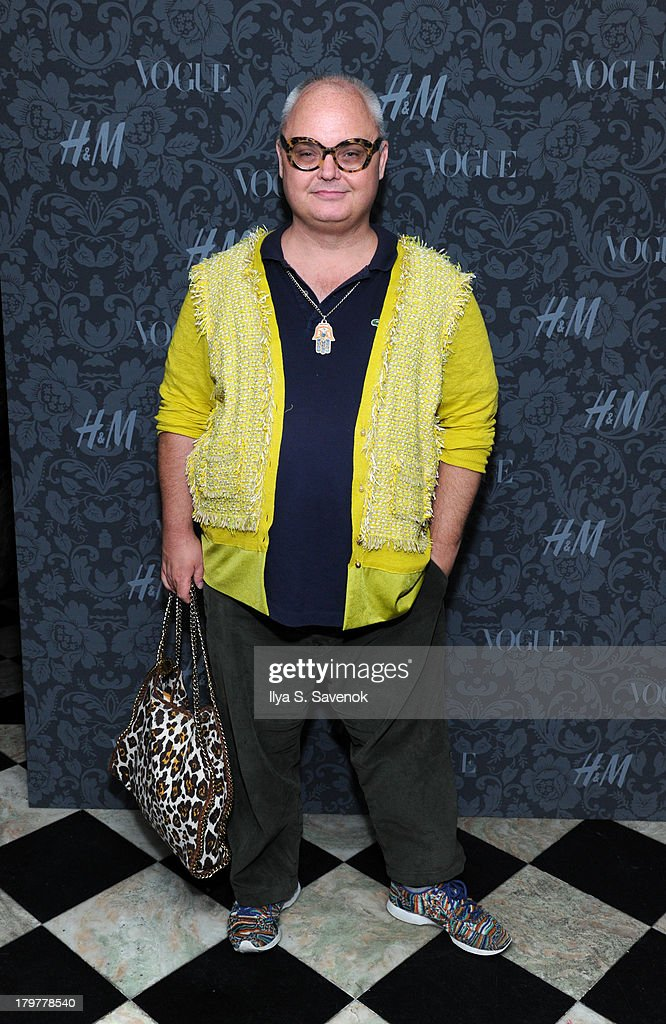 Mikey Boardman attends H&M & Vogue Studios Celebrate 'Between The Shows' on September 6, 2013 in New York City.