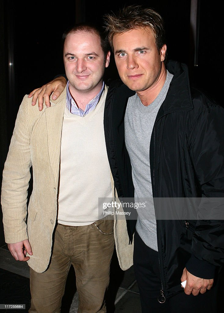 """Celebrity Sightings Outside the """"Late Late Show"""" in Dublin - October 13, 2006"""