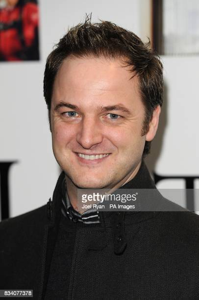 Mikey Graham arrives for the UK Premiere of The Bucket List at the Vue West End London