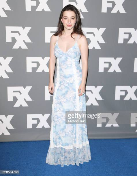 Mikey Madison arrives at the 2017 Summer TCA Tour FX held at The Beverly Hilton Hotel on August 9 2017 in Beverly Hills California