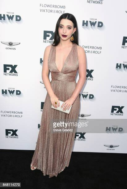 Mikey Madison attends FX and Vanity Fair Emmy Celebration at Craft on September 16 2017 in Century City California