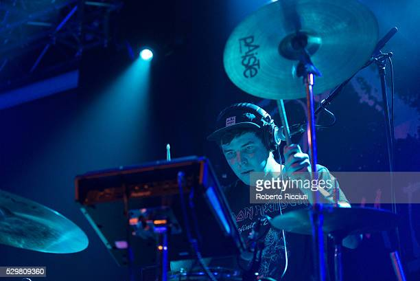 Mikey Reid of Man of Moon performs on stage at The Liquid Room on May 9 2016 in Edinburgh Scotland