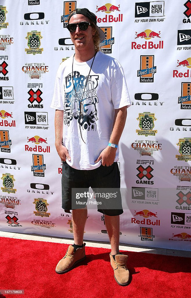 Mikey Rencz attends Ryan Sheckler X Games Celebrity Golf Tournament at Trump National Golf Course on June 26, 2012 in Palos Verdes Estates, California.