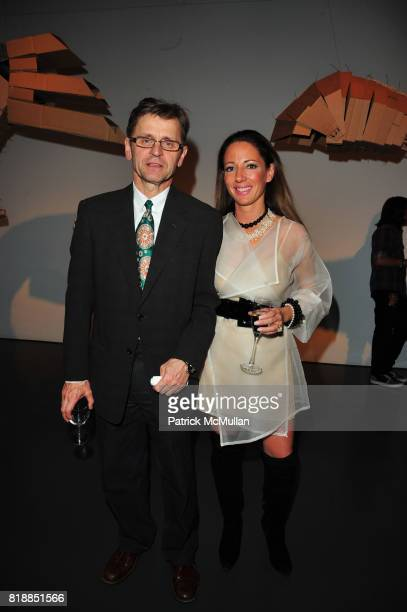 Mikhail Baryshnikov and Christina DePaul attend In the Studio A Celebration of the Young Arts Gold and Silver Winners at Baryshnikov Arts Center and...