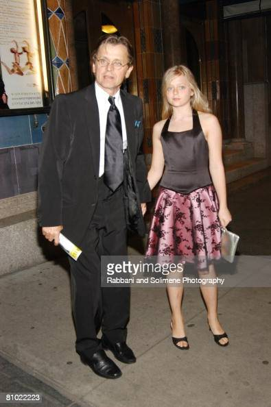 Mikhail Baryshnikov and daughter Alexandra...