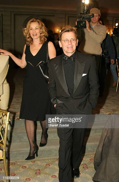Mikhail Baryshnikov and Jessica Lange during National Arts Club Celebration for The Stella by Starlight Gala at The Pierre Hotel in New York City...