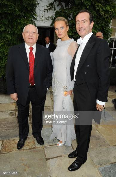 Raisa Gorbachev Foundation Annual Fundraising Gala Dinner - Inside Arrivals : News Photo