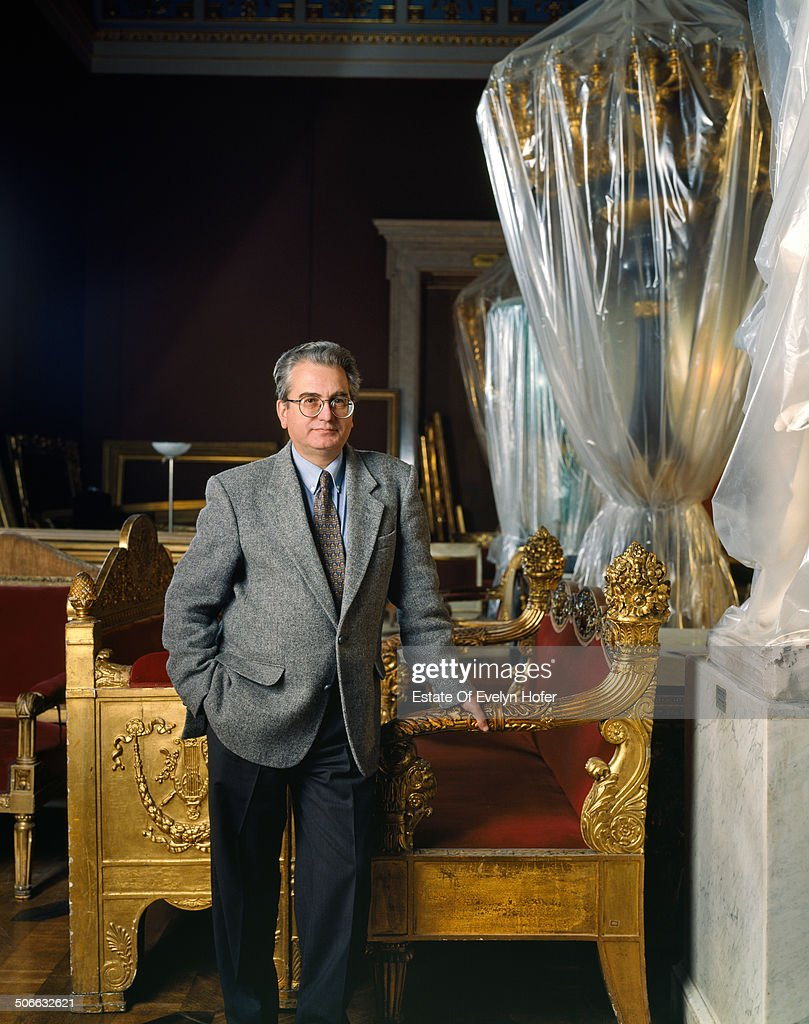 Mikhail Piotrovsky, Director of the State Hermitage Museum in Saint Petersburg, St. Petersburg, Russia, 1994.