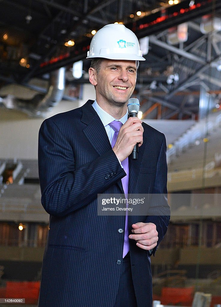 <a gi-track='captionPersonalityLinkClicked' href=/galleries/search?phrase=Mikhail+Prokhorov&family=editorial&specificpeople=4102603 ng-click='$event.stopPropagation()'>Mikhail Prokhorov</a> attends a New Jersey Nets press conference at the Barclays Center of Brooklyn on April 10, 2012 in New York City.