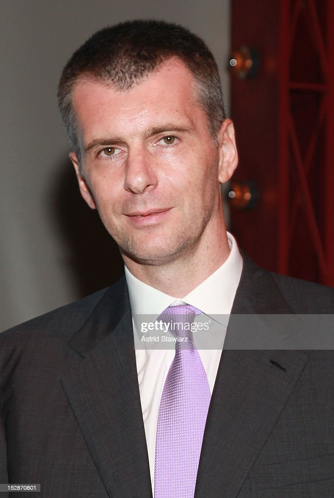 <a gi-track='captionPersonalityLinkClicked' href=/galleries/search?phrase=Mikhail+Prokhorov&family=editorial&specificpeople=4102603 ng-click='$event.stopPropagation()'>Mikhail Prokhorov</a> attends BAM 30th Next Wave Gala at Skylight One Hanson on September 27, 2012 in New York City.