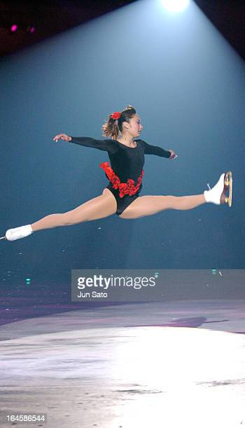 'Miki Ando during a Team Japan Exibition at Shin Yokohama Prince Hotel Skate Center in Yokohama Japan on June 27 2004 '