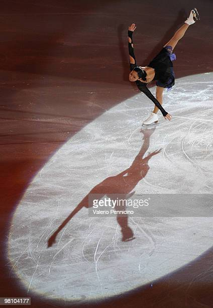 Miki Ando of Japan participates in the Gala Exhibition during the 2010 ISU World Figure Skating Championships on March 28 2010 in Turin Italy