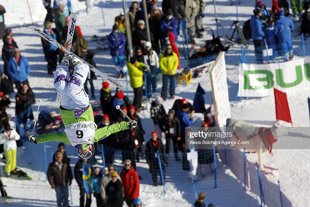 <a gi-track='captionPersonalityLinkClicked' href=/galleries/search?phrase=Miki+Ito&family=editorial&specificpeople=822720 ng-click='$event.stopPropagation()'>Miki Ito</a> of Japan takes 2nd place during the FIS Freestyle Ski World Championship Men's and Women's Dual Moguls on March 08, 2013 in Voss, Norway.