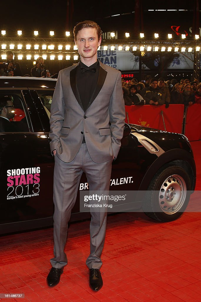 Mikkel Boe Folsgaard attends 'Mini Shooting Stars' - BMW at the 63rd Berlinale International Film Festival at the Berlinale-Palast on February 11, 2013 in Berlin, Germany.
