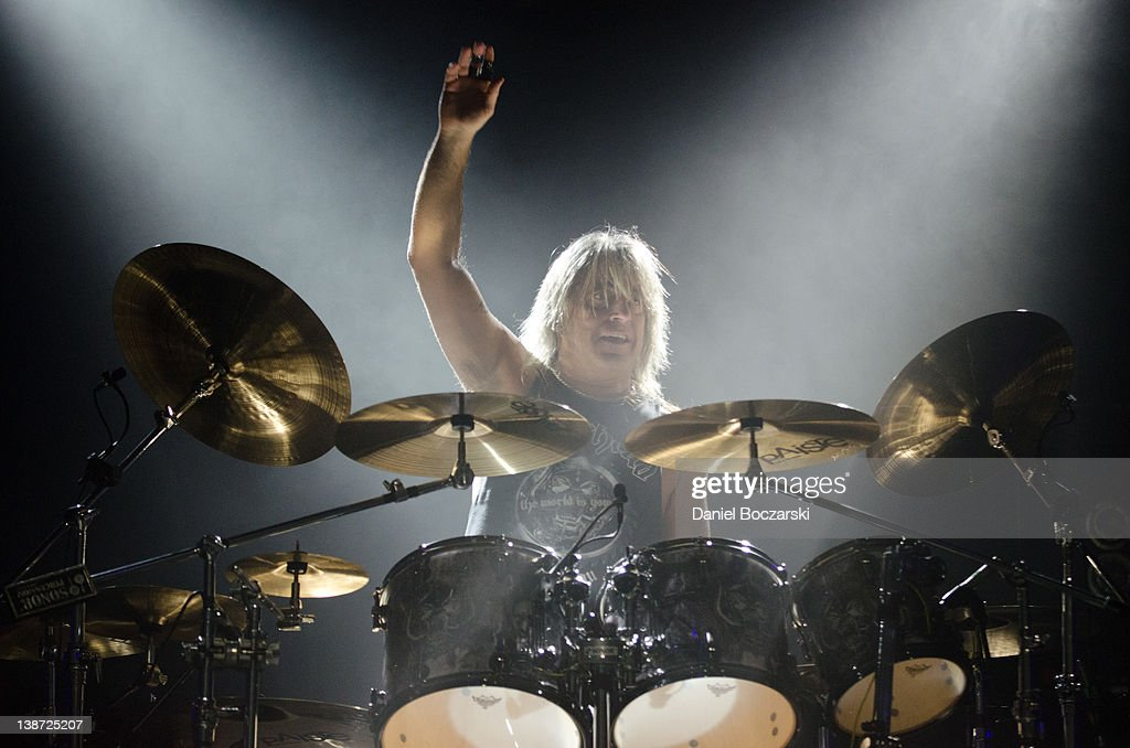Mikkey Dee of Motorhead performs at the Aragon Ballroom on February 10, 2012 in Chicago, Illinois.
