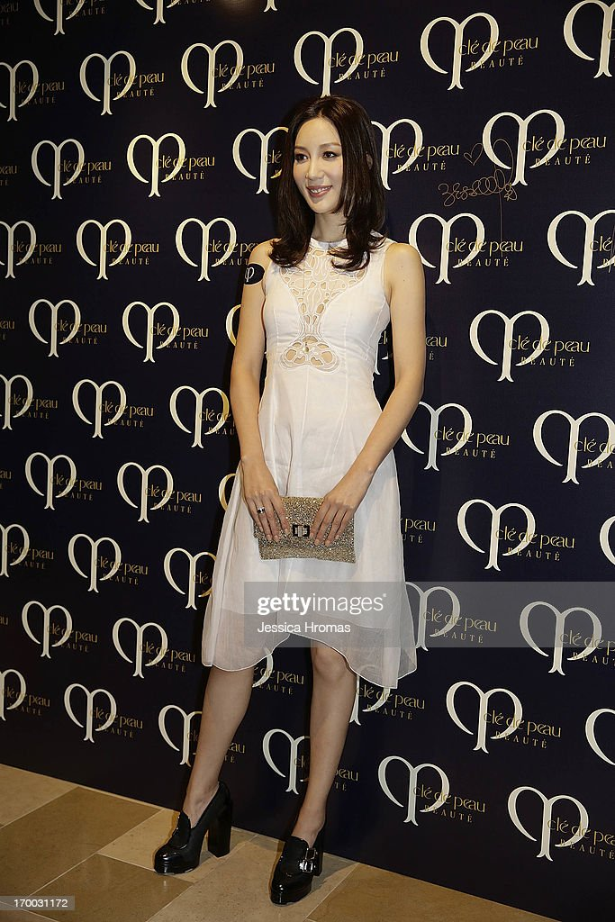 Mikki Yao attends the Shiseido 'Cle De Peau Beaute' gala dinner at ArtisTree on June 6, 2013 in Hong Kong, Hong Kong.