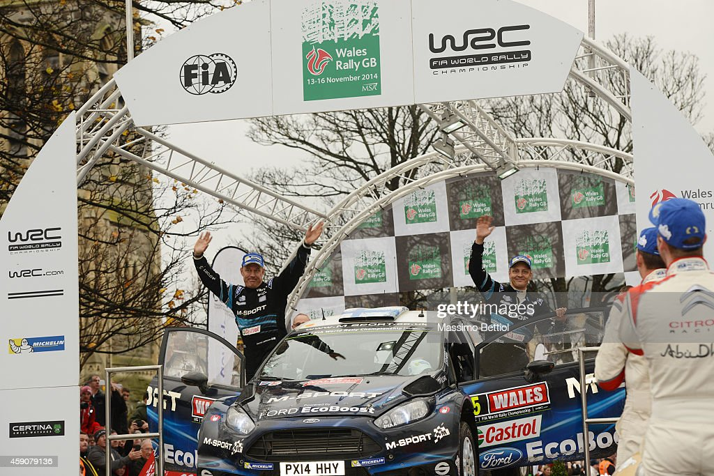 FIA World Rally Championship Great Britain - Day Three