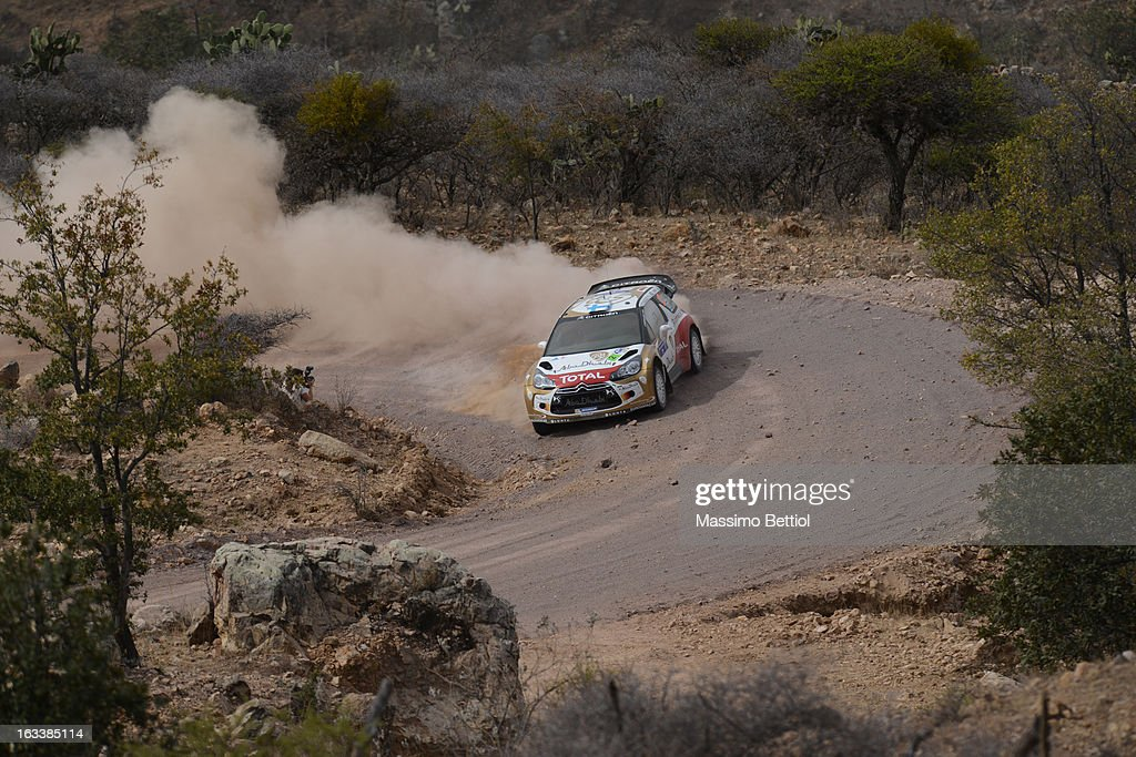 <a gi-track='captionPersonalityLinkClicked' href=/galleries/search?phrase=Mikko+Hirvonen&family=editorial&specificpeople=209287 ng-click='$event.stopPropagation()'>Mikko Hirvonen</a> of Finland and <a gi-track='captionPersonalityLinkClicked' href=/galleries/search?phrase=Jarmo+Lehtinen&family=editorial&specificpeople=233451 ng-click='$event.stopPropagation()'>Jarmo Lehtinen</a> of Finland compete in their Citroen Abu Dhabi WRT Citroen Ds3 WRC during Day One of the WRC Mexico on March 08 , 2013 in Leon , Mexico.