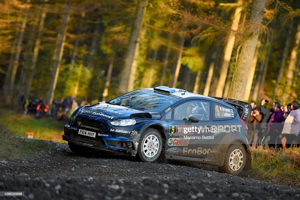 FIA World Rally Championship Great Britain - Day Two