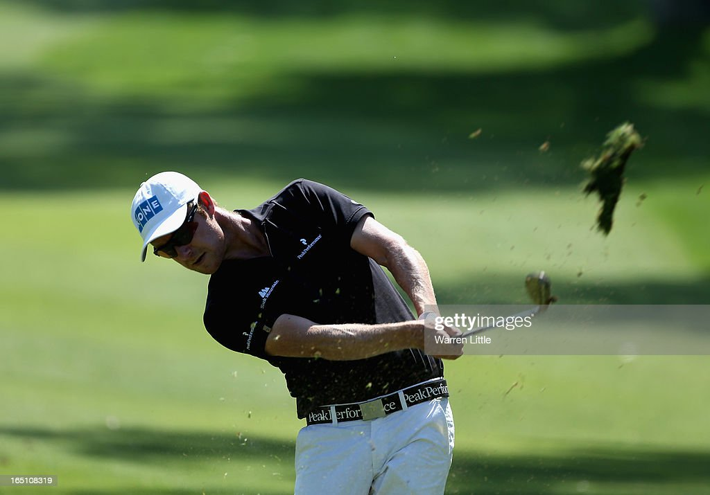 Mikko Ilonen of Finland in action during the third round of the Trophee du Hassan II at Golf du Palais Royal on March 30, 2013 in Agadir, Morocco.