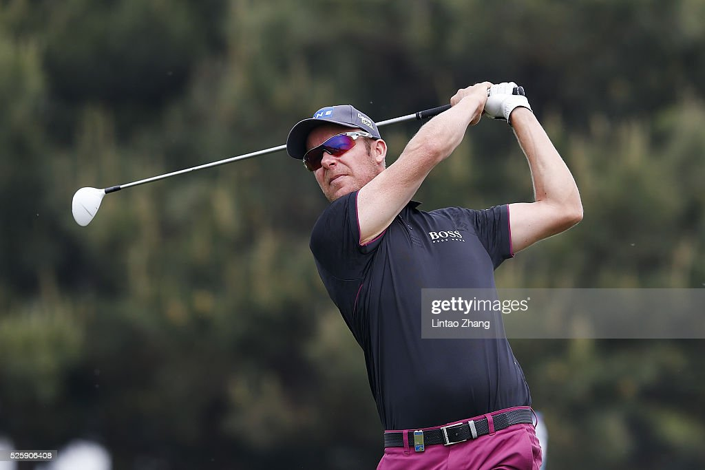 <a gi-track='captionPersonalityLinkClicked' href=/galleries/search?phrase=Mikko+Ilonen&family=editorial&specificpeople=215042 ng-click='$event.stopPropagation()'>Mikko Ilonen</a> of Finland plays a shot during the second round of the Volvo China open at Topwin Golf and Country Club on April 28, 2016 in Beijing, China.