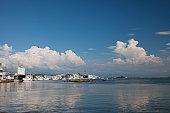 Mikuni harbor, Fukui Prefecture, Honshu, Japan