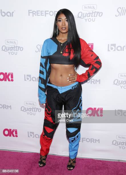 Mila J attends OK Magazine's Summer KickOff Party at W Hollywood on May 17 2017 in Hollywood California