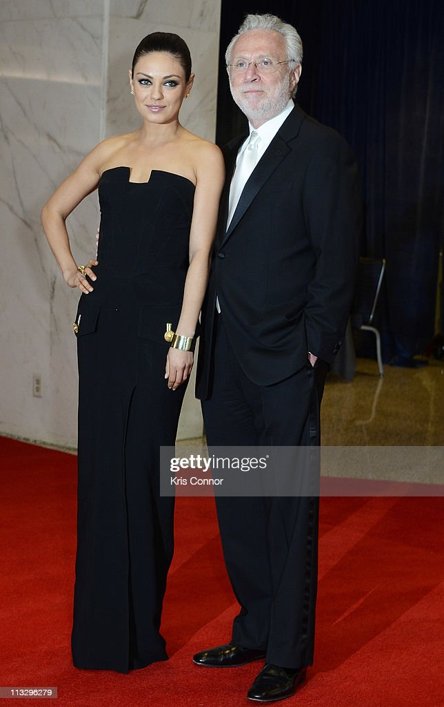 <a gi-track='captionPersonalityLinkClicked' href=/galleries/search?phrase=Mila+Kunis&family=editorial&specificpeople=212845 ng-click='$event.stopPropagation()'>Mila Kunis</a> and <a gi-track='captionPersonalityLinkClicked' href=/galleries/search?phrase=Wolf+Blitzer&family=editorial&specificpeople=221464 ng-click='$event.stopPropagation()'>Wolf Blitzer</a> attend the 2011 White House Correspondents' Association Dinner at the Washington Hilton on April 30, 2011 in Washington, DC.