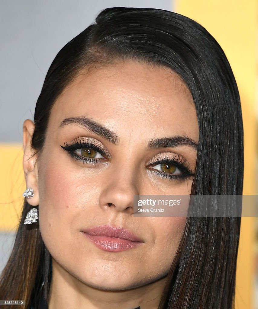 Mila Kunis arrives at the Premiere Of STX Entertainment's 'A Bad Moms Christmas' at Regency Village Theatre on October 30, 2017 in Westwood, California.