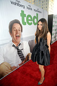 Mila Kunis arrives for the premiere of 'Ted' at Grauman's Chinese Theatre on June 21 2012 in Hollywood California