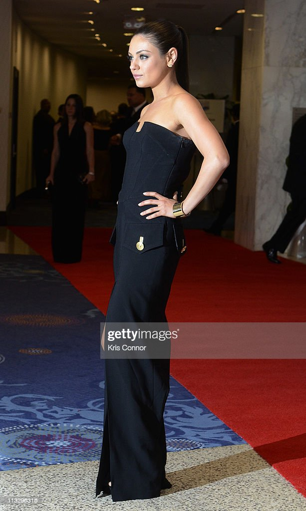 <a gi-track='captionPersonalityLinkClicked' href=/galleries/search?phrase=Mila+Kunis&family=editorial&specificpeople=212845 ng-click='$event.stopPropagation()'>Mila Kunis</a> attend the 2011 White House Correspondents' Association Dinner at the Washington Hilton on April 30, 2011 in Washington, DC.