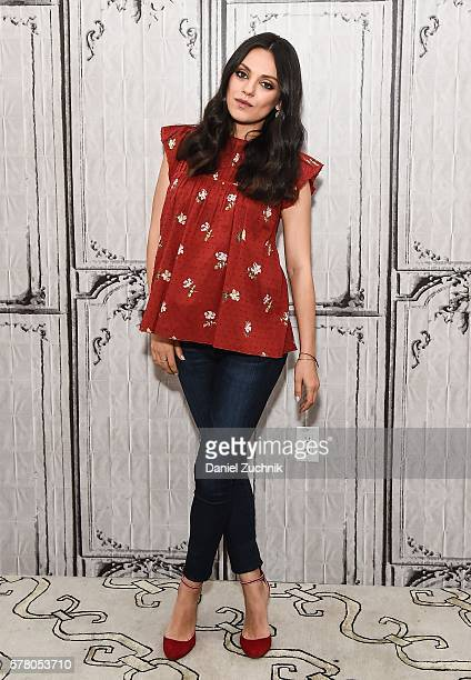 Mila Kunis attends AOl Build to discuss her new movie 'Bad Mom' at AOL HQ on July 20 2016 in New York City