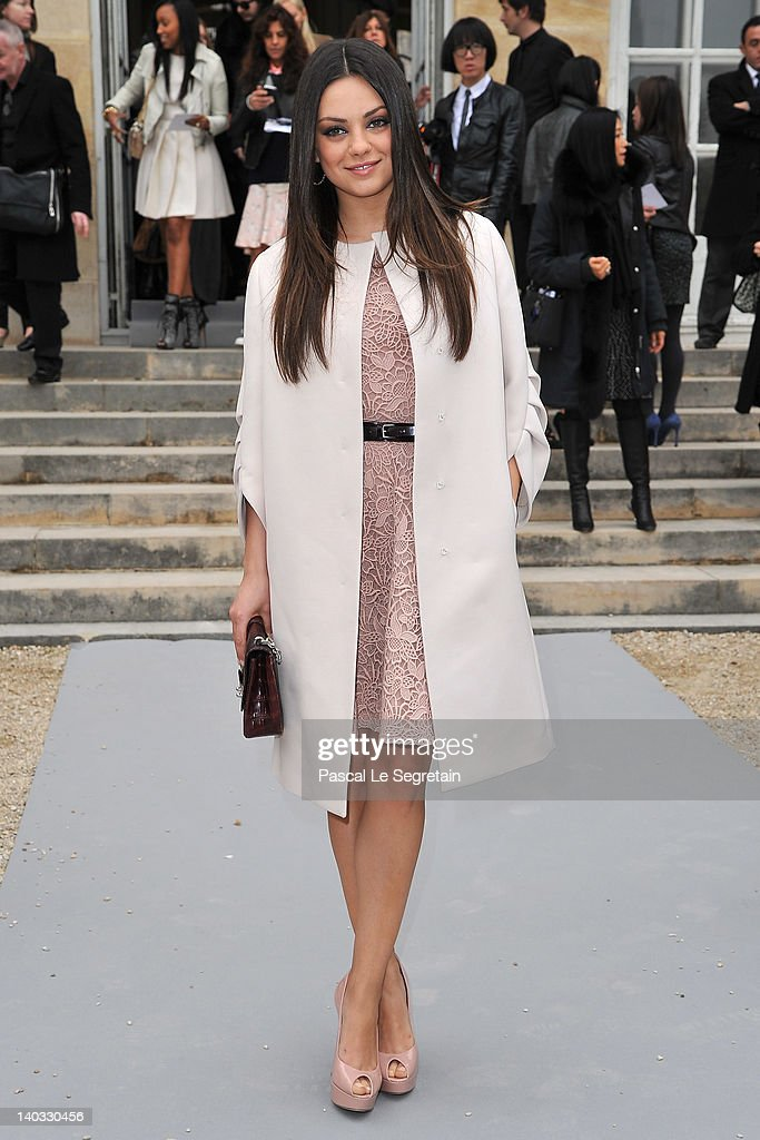 Christian Dior: Garden Arrivals - Paris Fashion Week Womenswear Fall/Winter 2012