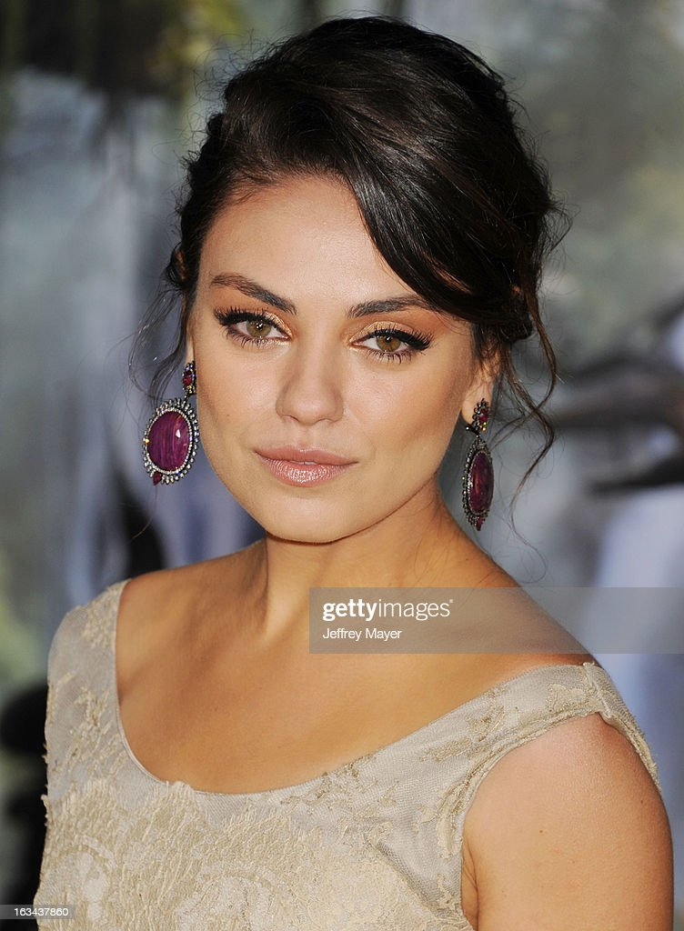 Mila Kunis attends the world premiere of Disney's 'OZ The Great And Powerful' at the El Capitan Theatre on February 13, 2013 in Hollywood, California.