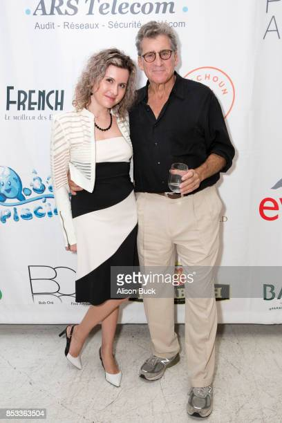 Mila Petrenko and Paul Michael Glaser attend Vanessa Moselle 'Just Because' part one silent auction benefiting Susan G Komen Los Angeles on September...