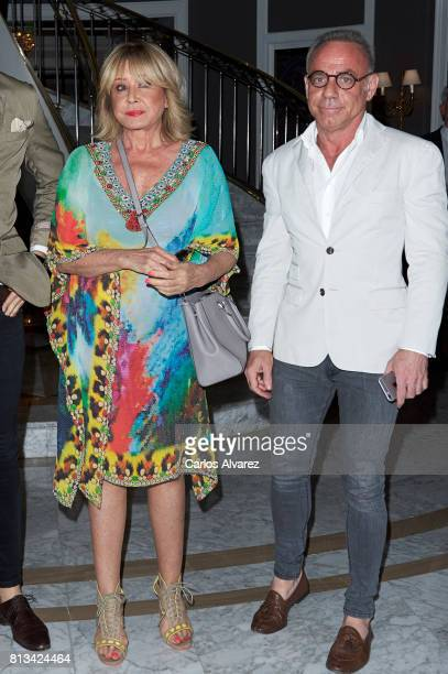 Mila Ximenez and Joaquin Torres attend the presentation of the new book 'Frente Al Espejo' at Hotel Villamagna on July 12 2017 in Madrid Spain