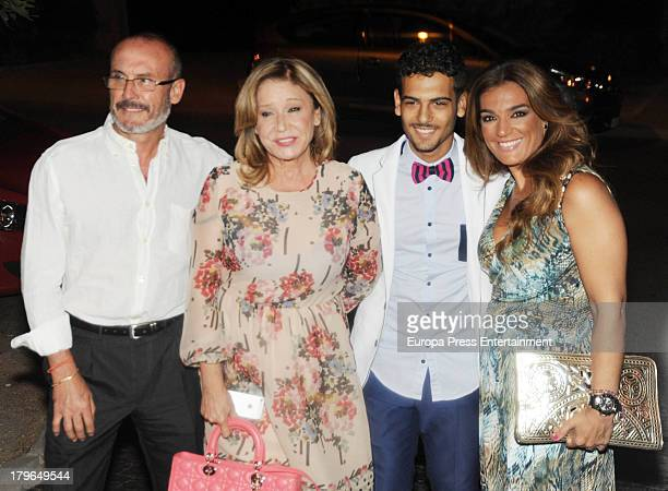 Mila Ximenez and Raquel Bollo attend Terelu Campos's 48th birthday party on September 5 2013 in Madrid Spain