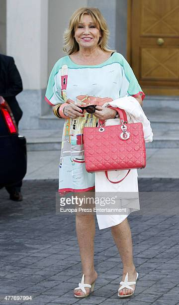 Mila Ximenez attends Maria Teresa Campos's 74th birthday on June 18 2015 in Madrid Spain