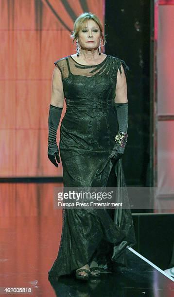 Mila Ximenez attends 'Salvame Fashion Week' on January 22 2015 in Madrid Spain