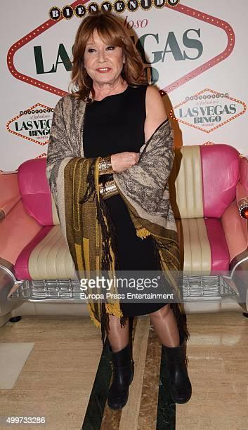 Mila Ximenez attends 'Sol de Oro' Bingo Las Vegas Awards on December 2 2015 in Madrid Spain