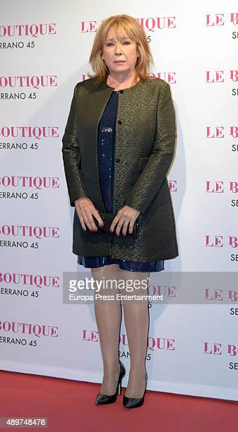 Mila Ximenez attends Terelu's 50th birthday party on September 23 2015 in Madrid Spain
