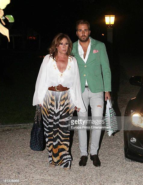 Mila Ximenez attends the 47th birthday party of Terelu Campos at Casa Monico Restaurant on September 5 2012 in Madrid Spain