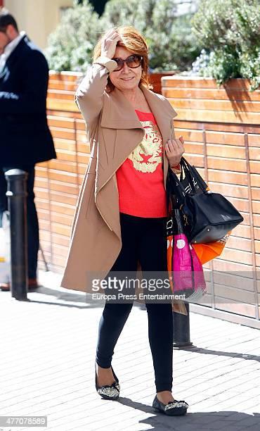 Mila Ximenez is seen on March 6 2014 in Madrid Spain