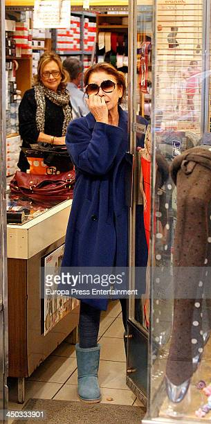 Mila Ximenez is seen on November 13 2013 in Madrid Spain