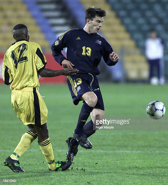 Milan Blagojevic of Australia in action during the match between Australia and Vanuatu in the Oceania Football Confederation's Nations Cup at...