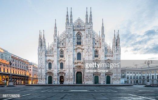 Milan Cathedral, Duomo di Milano at dawn