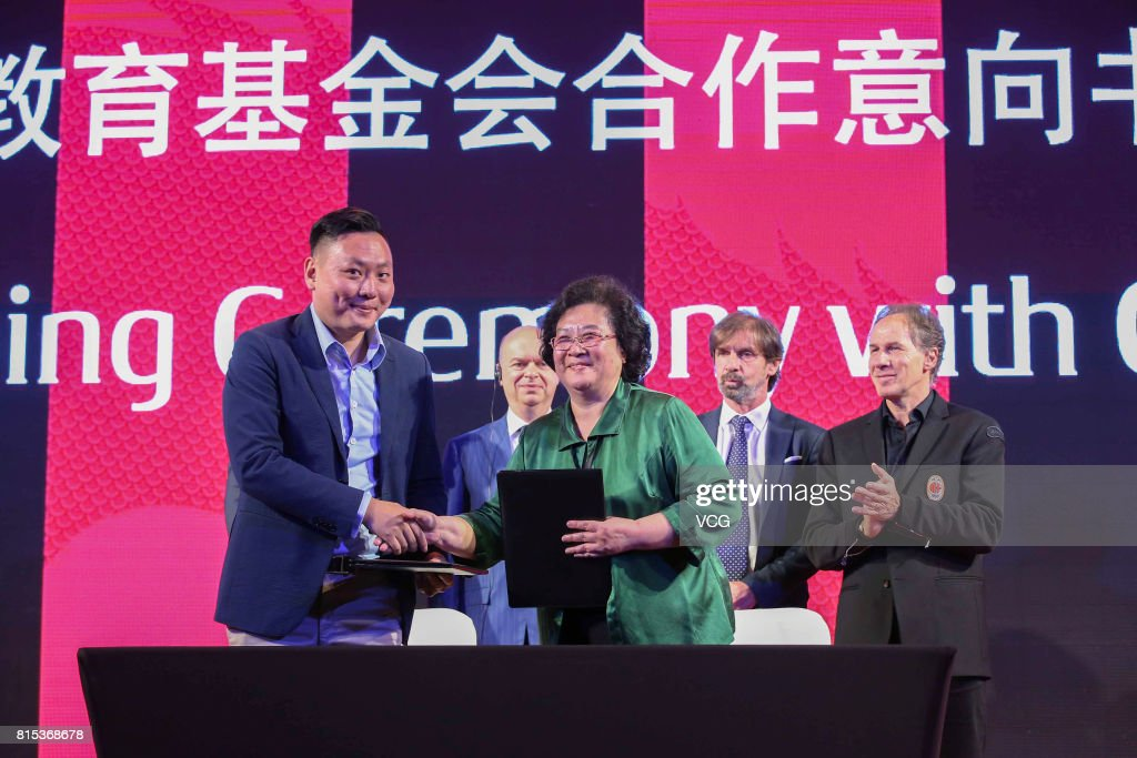Milan China Tour Press Conference and MoU Signing Ceremony with CNGEF is held on July 16, 2017 in Guangzhou, Guangdong Province of China.
