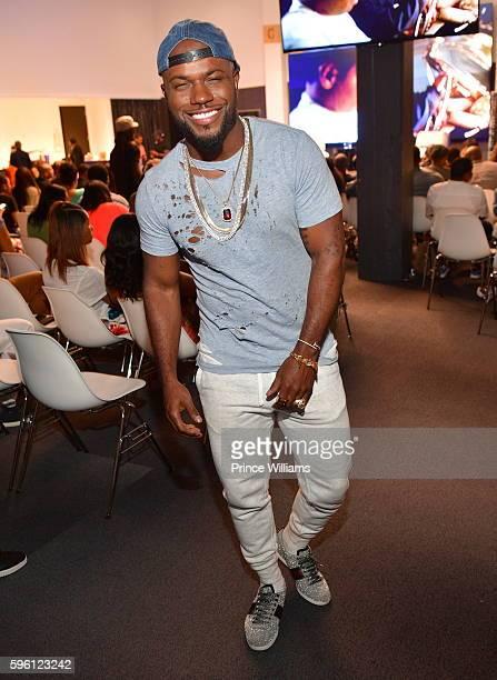 Milan Christopher attends Celebrating 25 Years Boyz N The Hood on August 23 2016 in Atlanta Georgia